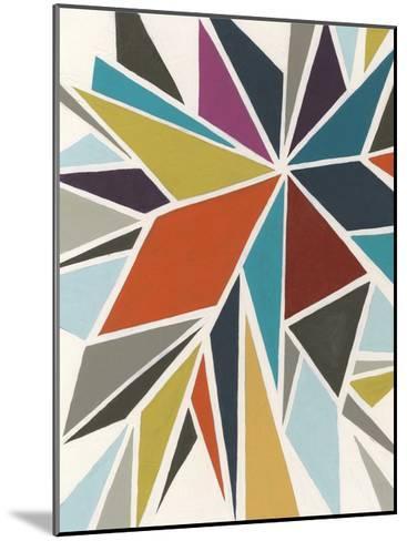 Pinwheel I-Erica J^ Vess-Mounted Art Print