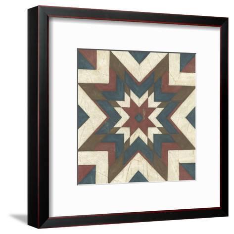 Quilt Motif II-Erica J^ Vess-Framed Art Print