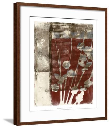 Rustic Blossoms I-Jennifer Goldberger-Framed Art Print