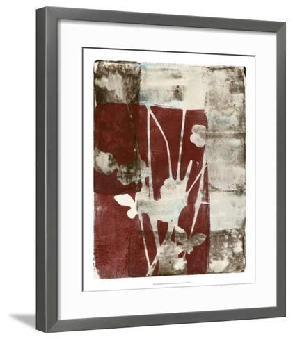 Rustic Blossoms II-Jennifer Goldberger-Framed Art Print