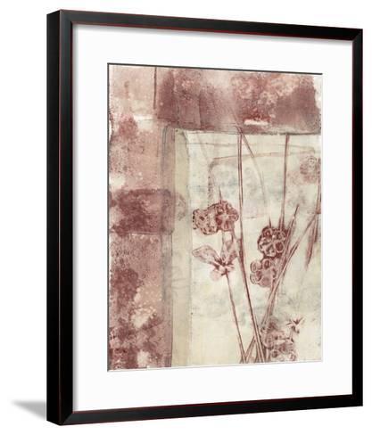 Framed Blossoms I-Jennifer Goldberger-Framed Art Print