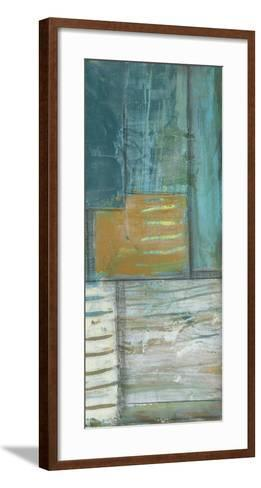 Quadrant Overlay III-Jennifer Goldberger-Framed Art Print
