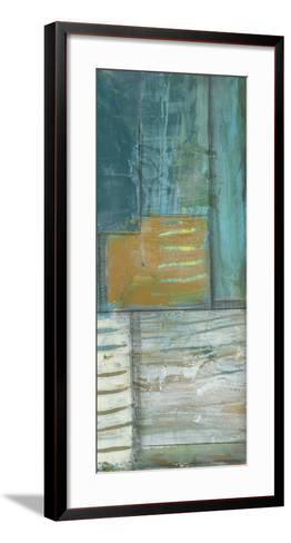 Quadrant Overlay III-Jennifer Goldberger-Framed Art Print