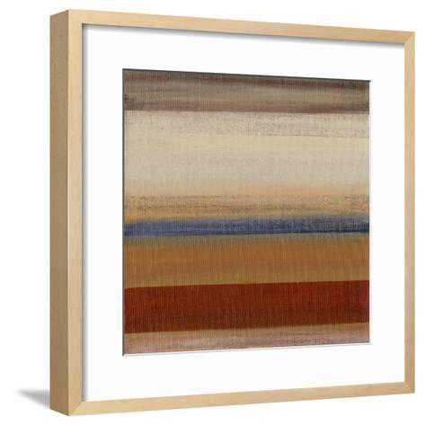 Soft Sand I-W^ Green-Aldridge-Framed Art Print