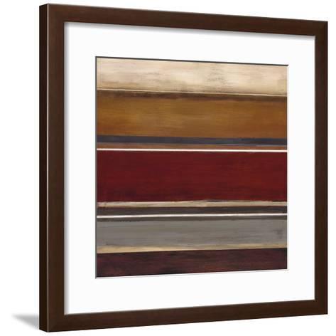 Soft Sand V-W^ Green-Aldridge-Framed Art Print