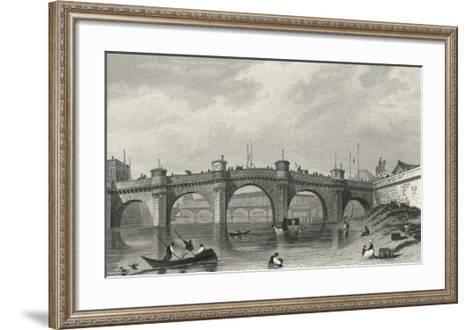 Vue Du Pont Neuf-A^ Pugin-Framed Art Print