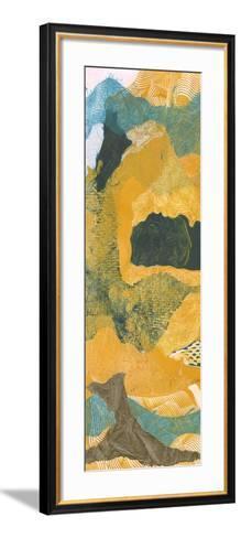 Mountain Shapes I-Carolyn Roth-Framed Art Print