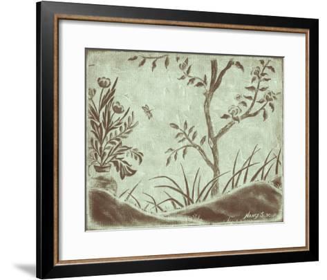 Peaceful Garden VI-Nancy Slocum-Framed Art Print