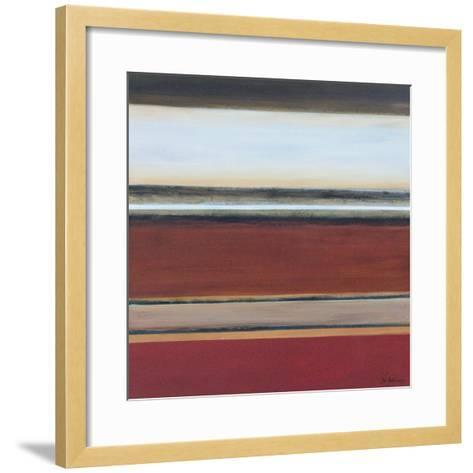 Award Winning Orange II-W^ Green-Aldridge-Framed Art Print