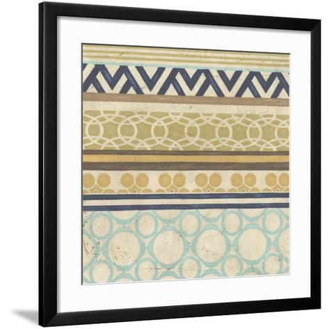 Geometric Frieze I-Erica J^ Vess-Framed Art Print