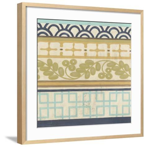 Geometric Frieze II-Erica J^ Vess-Framed Art Print