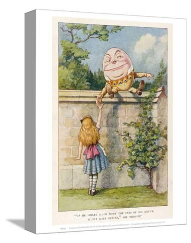 Humpty Dumpty--Stretched Canvas Print