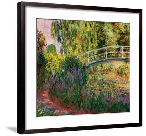 Le Pont Japonais-Claude Monet-Framed Art Print