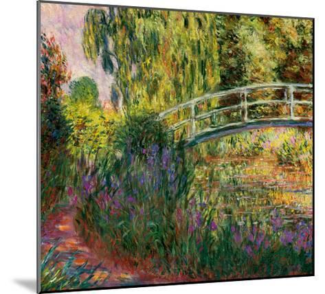 Le Pont Japonais-Claude Monet-Mounted Art Print
