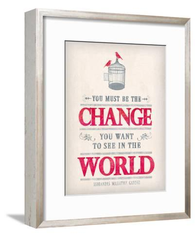 Words of Truth II-The Vintage Collection-Framed Art Print