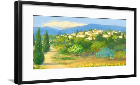 Into the Hills II-Hazel Barker-Framed Art Print