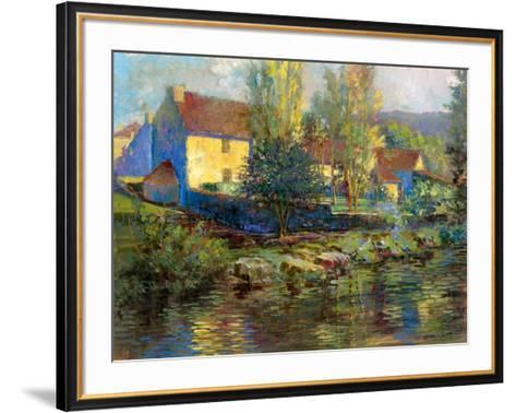 Summer Retreat-Longo-Framed Art Print