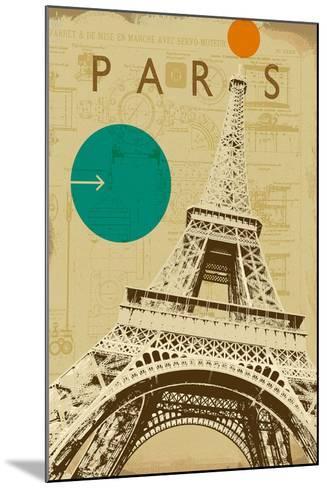 City Plans II-Ken Hurd-Mounted Art Print