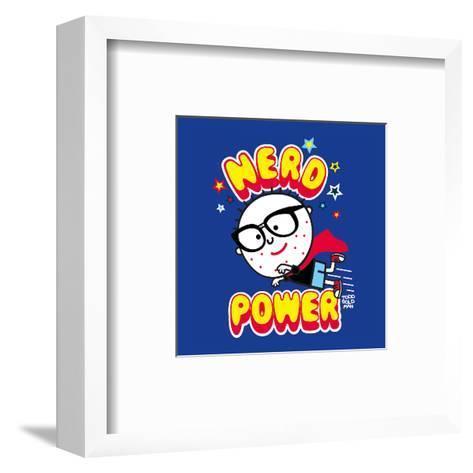 Nerd Power-Todd Goldman-Framed Art Print