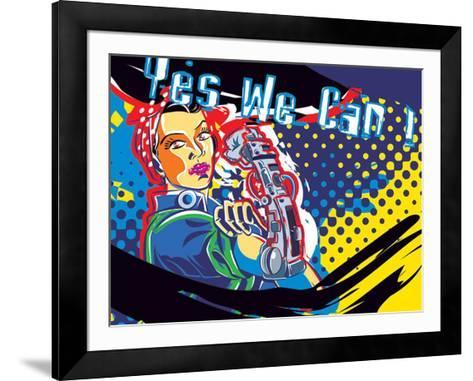 Yesss!-Ray Lengele-Framed Art Print