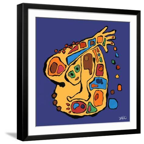 Kalo-Yaro-Framed Art Print