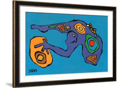 Anamorphism-Yaro-Framed Art Print