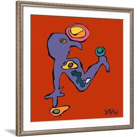 The Reasoning-Yaro-Framed Art Print