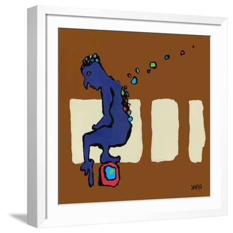 Momento-Yaro-Framed Art Print