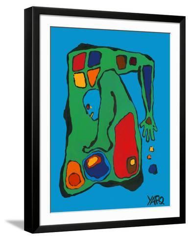 Globoro-Yaro-Framed Art Print