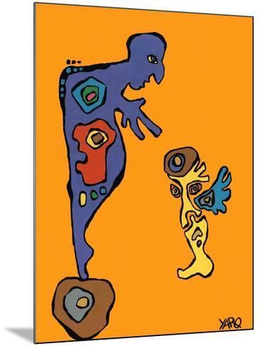 The roles-Yaro-Mounted Art Print