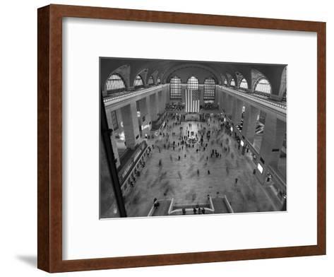 Grand Central Station Interior-Christopher Bliss-Framed Art Print