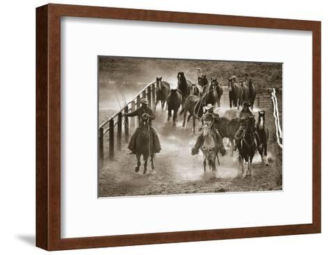 Livin? the Life-Barry Hart-Framed Art Print