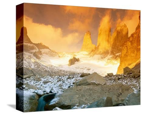 Torres Del Paine Patagonia--Stretched Canvas Print