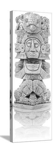 Antique Inca Statue--Stretched Canvas Print