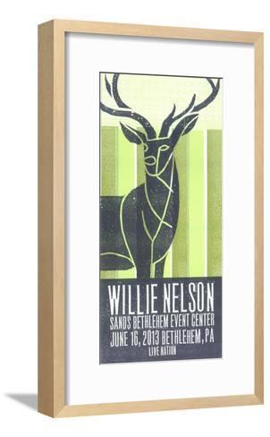 Willie Nelson-Print Mafia-Framed Art Print