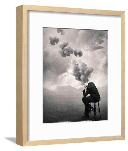 Think-Tommy Ingberg-Framed Art Print