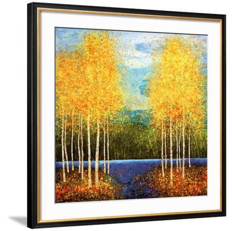 Inlet Grove-Melissa Graves-Brown-Framed Art Print