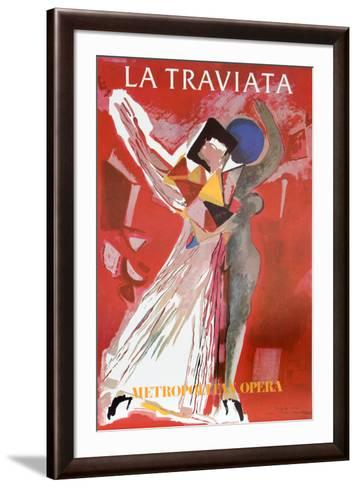La Traviatta (Metropolitan Opera)-Marino Marini-Framed Art Print