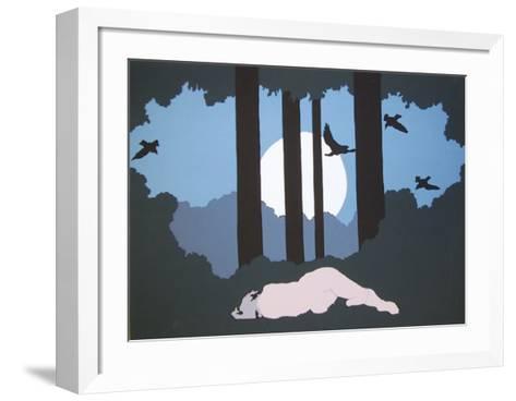 Moonlight-Daphne Mumford-Framed Art Print