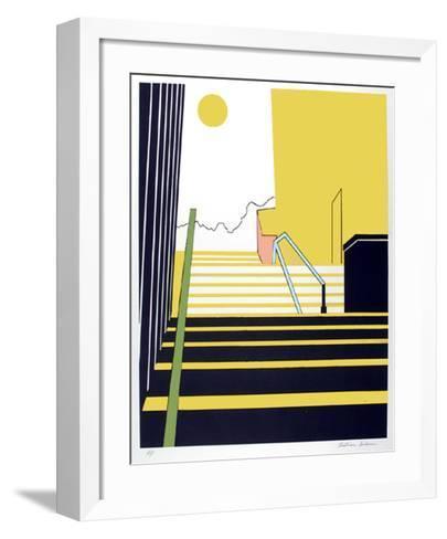 Stairway-Beatrice Seiden-Framed Art Print