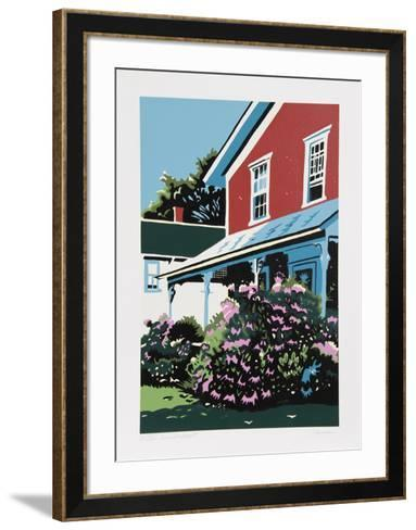 Summer's Onslaught-Jon Carsman-Framed Art Print