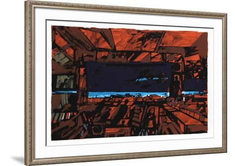 Rusted Room-John Hultberg-Framed Art Print