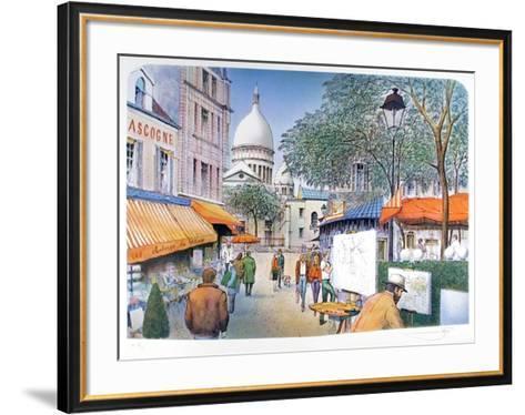 Paris-06-Rolf Rafflewski-Framed Art Print