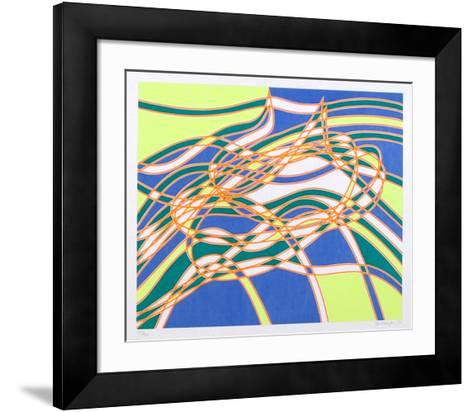 Untitled 3, from the Aquarius Suite-Stanley Hayter-Framed Art Print