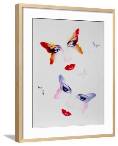 Butterflies-Pater Sato-Framed Art Print