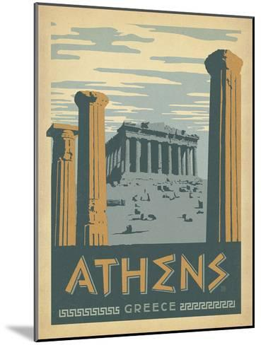 Athens, Greece-Anderson Design Group-Mounted Art Print