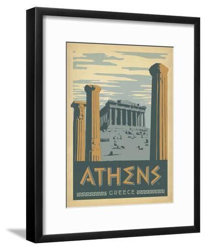 Athens, Greece-Anderson Design Group-Framed Art Print