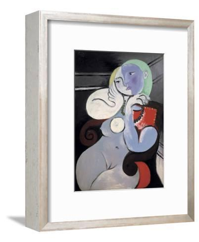 Nude Woman in a Red Armchair, 1932-Pablo Picasso-Framed Art Print