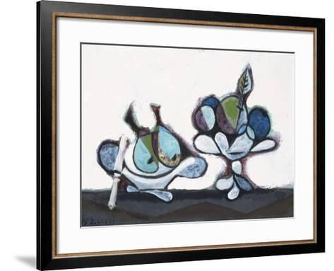 Dish of Pears, 1936-Pablo Picasso-Framed Art Print