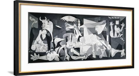 Guernica, 1937-Pablo Picasso-Framed Art Print
